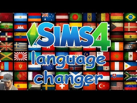 How To Change The Sims 4 Language Into ANY Language | Quick Tutorial (2016)