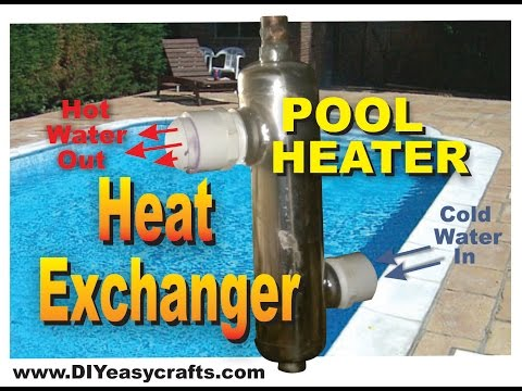 Heat Exchanger for Pool Heater DIY How To
