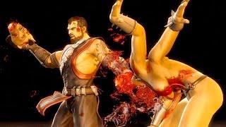 Mortal Kombat 9 - All Fatalities & X-Rays on Green Lantern