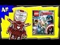 Lego Marvel Avengers Iron Man Silver Centurion 5002946 Minif