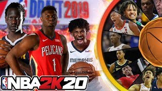 NBA 2K20 Wheel of Draft Picks