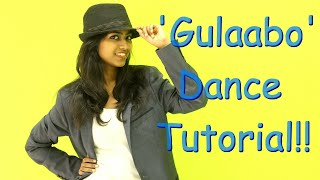 Gulaabo   Learn Dance Steps   Shaandaar   Dance Tutorial