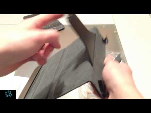 Belkin iPad mini leather case unboxing