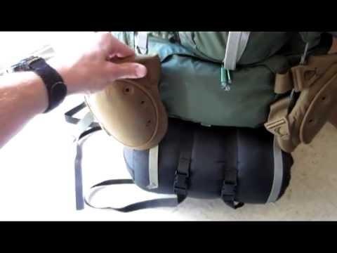 Backpacking Gear, External Frame pack, part 1
