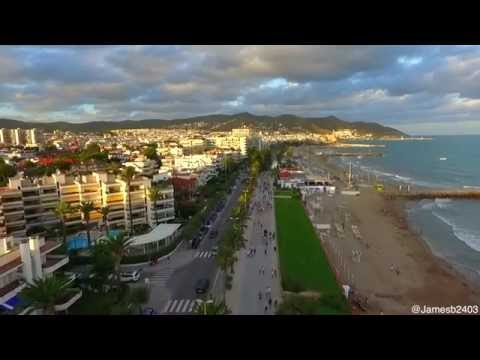 Sitges by Drone, Spain