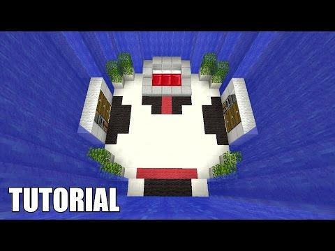 Minecraft Tutorial: How To Make A UNDERGROUND WATERFALL DUNGEON!! Survival House