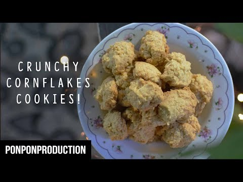 How to Make CRUNCHY CORNFLAKES COOKIES - easy and delicious! | KUIH RAYA