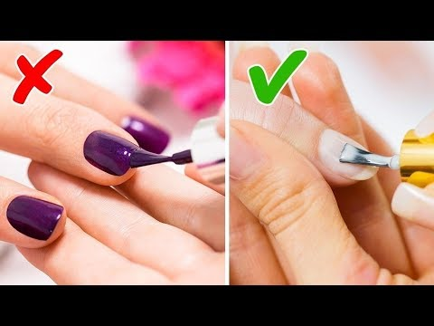 15 NAIL HACKS FOR THE PERFECT MANICURE