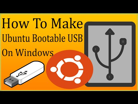 How To Make Ubuntu Bootable USB In Windows 10/7/8/8.1/Vista/XP To Install Ubuntu