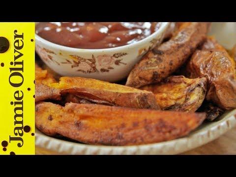 Roast Sweet Potato Wedges | Tim 'Livewire' Shieff