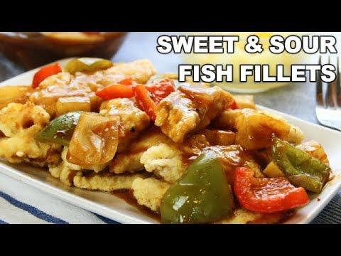 30 Minute Sweet & Sour Fish Fillets