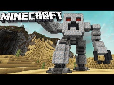CRAZIEST WORKING ROBOTS MOD IN MINECRAFT! Minecraft Best Mods