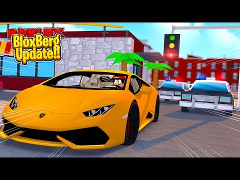 ROBLOX -  MY NEW CAR IN THE BLOXBURG UPDATE!!
