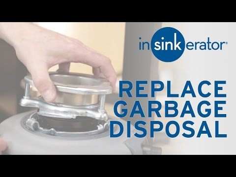 How To: Install Replacement Garbage Disposal