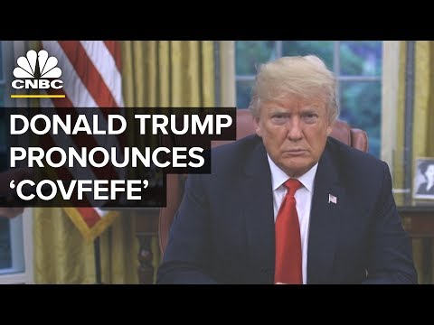 President Trump Pours 'Covfefe' On Yanny Or Laurel Debate | CNBC