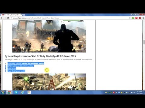 How to download call of duty black ops 3 using idm