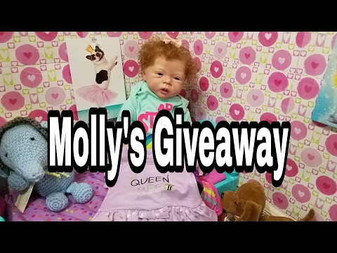 FREE STUFF! Molly's GIVEAWAY! Talking Reborn Baby Doll! Toy Doll! Nlovewithreborns2011
