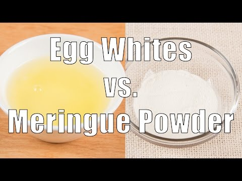 Egg Whites vs. Meringue Powder (Home Cooking 101) DiTuro Productions
