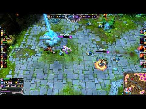 League Of Legends 8/6/2014 Diana PENTAKILL FuryofTheDark EUNE S4