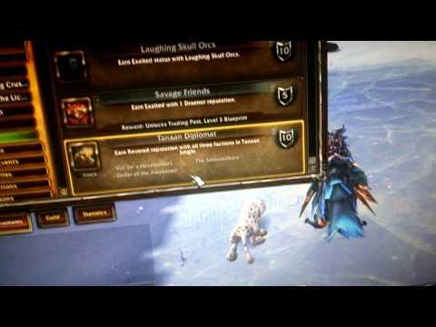 World of Warcraft: Draenor Flying