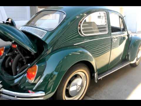 1968 Volkswagen Sunroof Deluxe Beetle