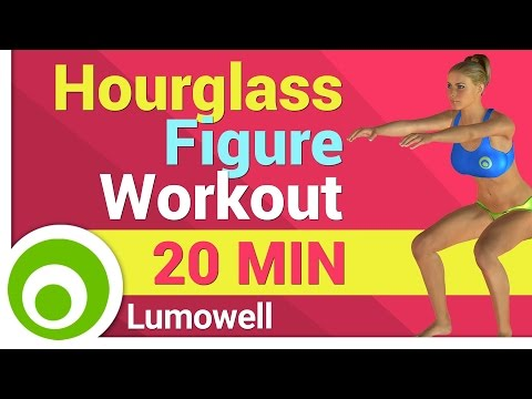 Hourglass Figure Workout for Beginners - How to Get a Curvy Body