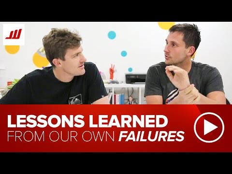 Lessons Learned From Our Own Failures