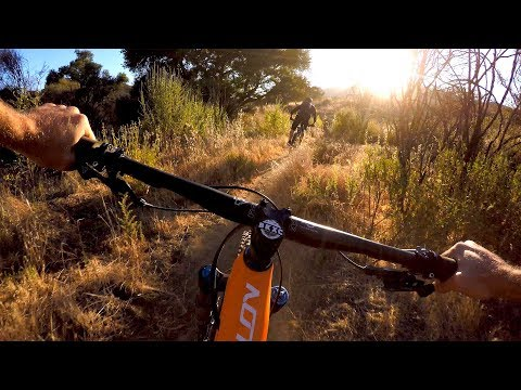 A Bromantic Ride Into The Sunset   Mountain Biking with Worldwide Cyclery