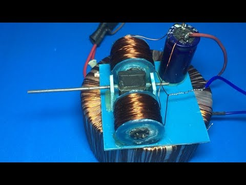 How to make induction motor , 220V AC motor , amazing idea , science project 2018