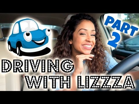 CRAZY DRIVER?! DRIVING WITH LIZZZA PART