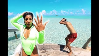 I LOST MY ENGAGEMENT RING IN THE OCEAN (prank!!)