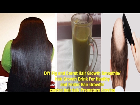 Hair Growth Drink with Carrots and figs/Hair Growth Drink For healthy and Faster Hair growth