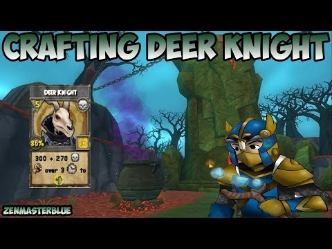 Wizard101: Crafting Deer Knight