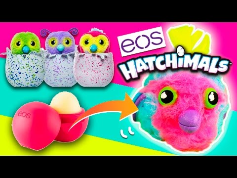 DIY EOS Hatchimal 🐣  How to CUSTOMIZE EOS Lip BALM