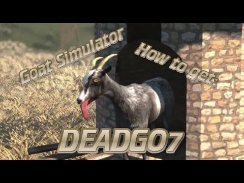 How to get DEADGO7 on Goat Simulator (Mobile)