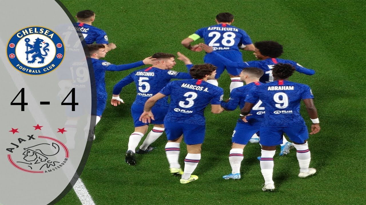 Chelsea vs Ajax 4-4 UCL 2019-20 All Goals and Extended Highlights HD ENGLISH Commentary