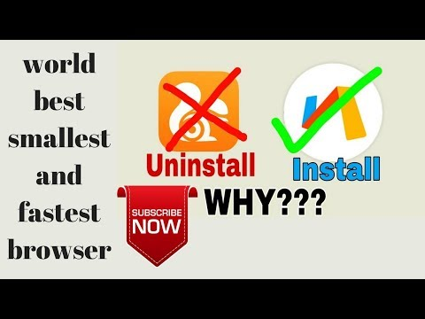 android best then uc browser || world best smallest and fastest browser