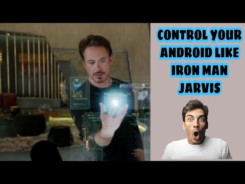 How to control your phone with Voice Like Iron man Jarvis
