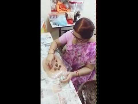 How to make ganesh idol with mud