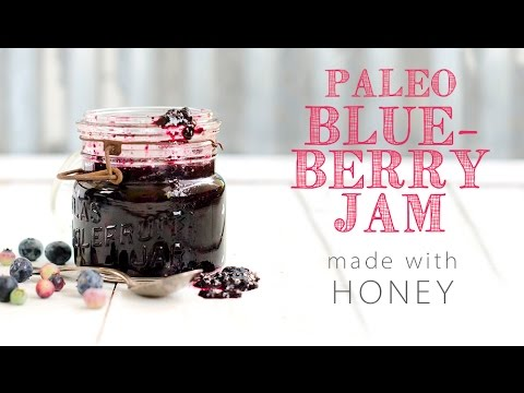 How to make Paleo Blueberry Jam with Honey