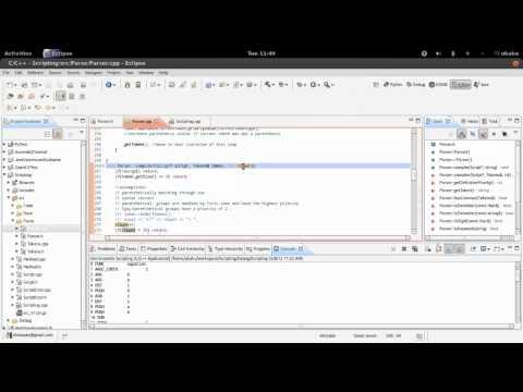 Writing a Scripting Language 03 - Parser