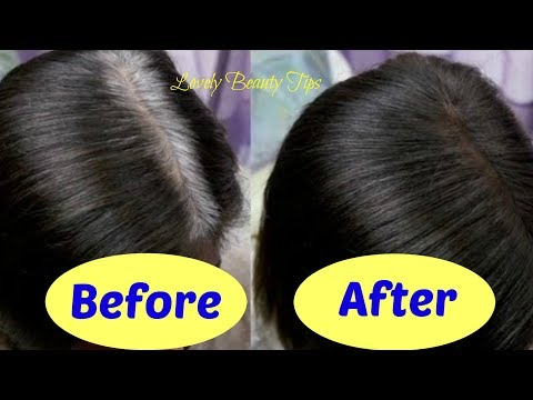 How to Get Rid of Grey Hair💗Works💯%✔ Natural Home Remedies  |  Lovely Beauty Tips |