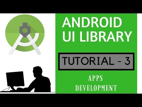 Android UI Library -3 | Android Animation Submit Button | Stylish Button |Apps development |Tutorial