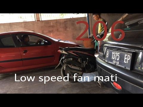 Low speed fan tidak bekerja peugeot 206
