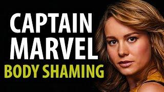 Captain Marvel Body Shaming Double Standards