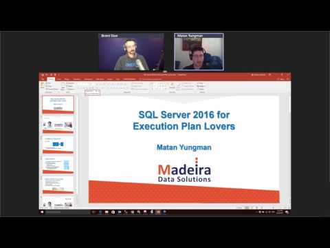 SQL Server 2016 Features for Performance Tuning Lovers by Matan Yungman