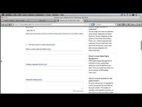 How To Edit Kindle Books You Have Already Published