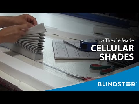 How Cellular Shades are Made