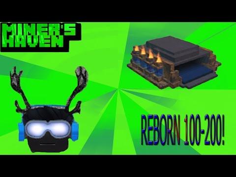 [ROBLOX: Miner's Haven set-ups] Reborn 100-200 set-up! (FASTEST)