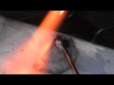 Brazing Aluminum at Weld Strength with Muggy Weld Super Alloy 5